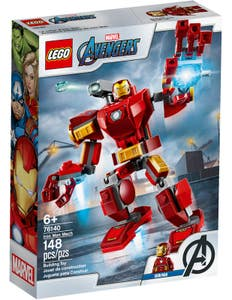 LEGO Marvel Super Heroes Armadura Robótica de Iron Man 76140