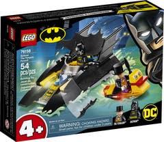 LEGO® DC Comics Super Heroes 76158 ˇCaza del Pingüino en la Batlancha!