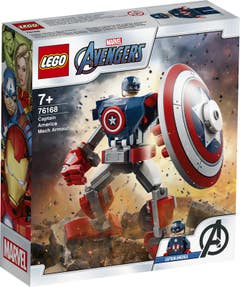Marvel Avengers Movie 4 76168 Armadura Robótica del Capitán América