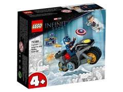 LEGO Marvel Capitán América contra Hydra 76189