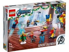 LEGO Los Vengadores Calendario de Adviento 76196