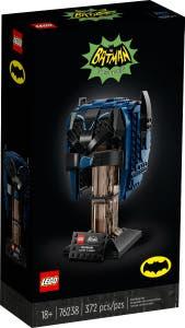 PREVENTA LEGO® DC Batman™ 76238 Capucha de Batman Clásico de TV