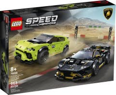 Lego 76899 Lamborghini Urus ST-X & Lamborghini Huracán Super Trofeo EVO