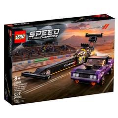 LEGO® Speed Champions 76904 Drágster Mopar Dodge//SRT Top Fuel y Dodge Challenger T/A de 1970