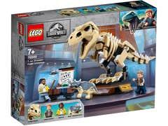 LEGO Jurassic World Exhibición del Dinosaurio T. Rex Fosilizado 76940