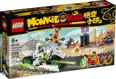 LEGO Monkie Kid Moto-Caballo del Dragón Blanco 80006