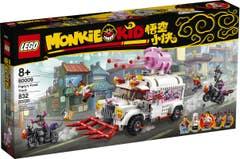 LEGO Monkie Kid Camión Restaurante de Pigsy 80009
