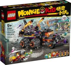 LEGO Monkie Kid Camión Infernal de Red Son 80011