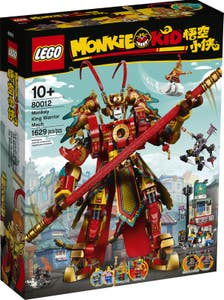 LEGO Monkie Kid Meca Guerrero de Monkey King 80012