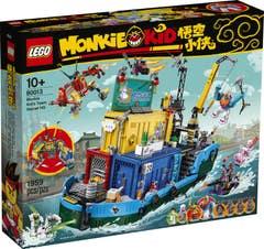 LEGO Monkie Kid Cuartel General Secreto del Equipo de Monkie Kid 80013
