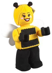 LEGO Merchandise Peluche de Minifigura de la Chica Abeja 853802