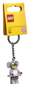 LEGO Merchandise Llavero de Chica con Disfraz de Elefante 853905